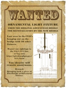 Greenfield Bridge WANTED poster