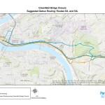 Greenfield Bridge Closure 52L/53L Route Change