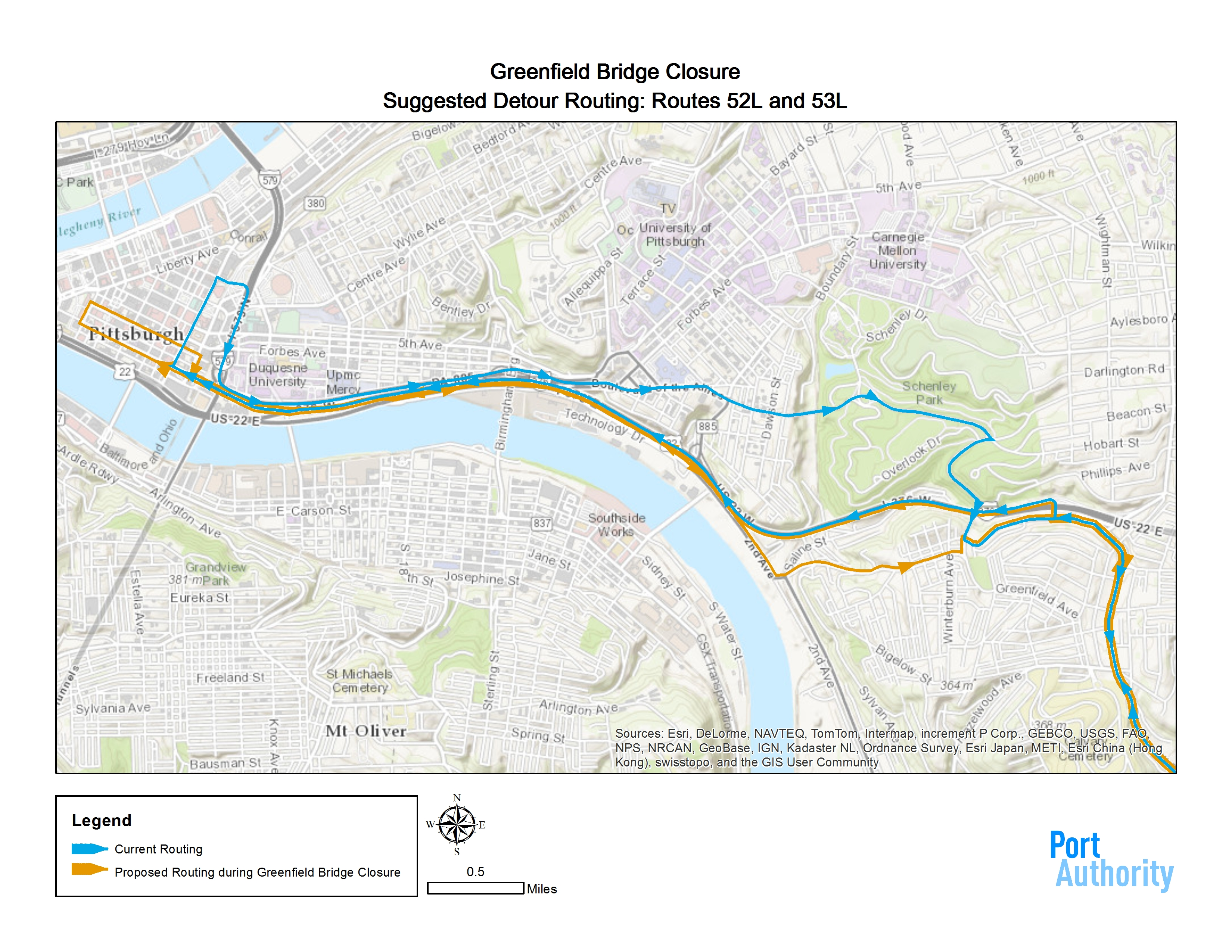 No Bridge New Bus Routes Greenfield Community Association