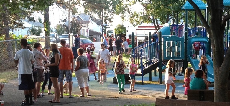 National Night Out 2014, Hammer Field in Greenfield