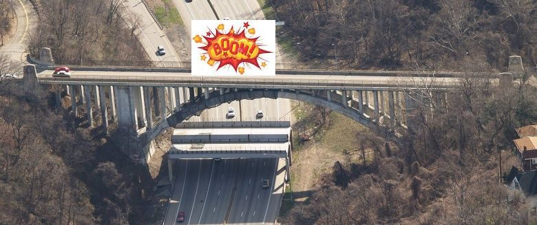 Greenfield Bridge ... Boom!