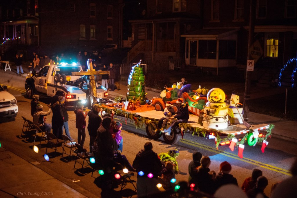 Greenfield 2015 Holiday Parade, Howards Towing