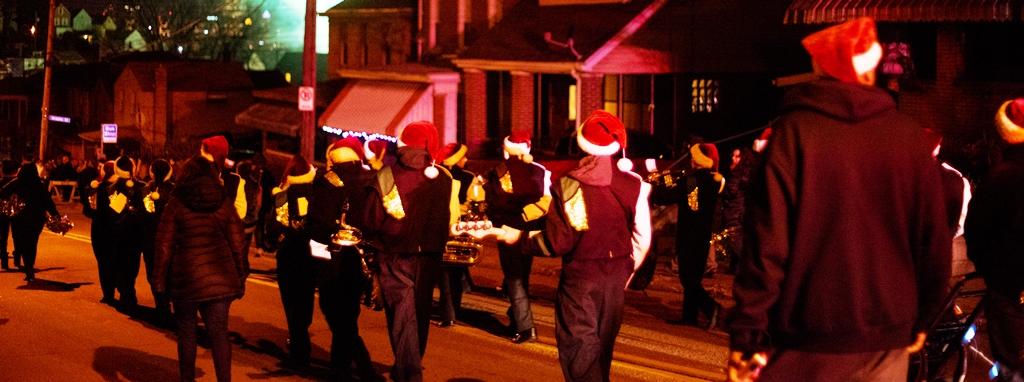 Greenfield Holiday Parade, 4 Dec 2015