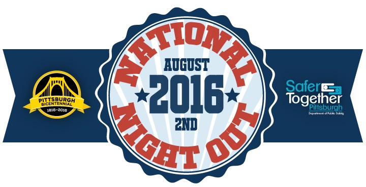 National Night Out logo, 2016